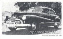 tra007011 - 1948 Buick Road master Four Door Automotive, Autos, Cards Old Vintage Antique Postcard Post Card