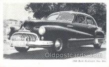 tra007013 - 1948 Buick Road master Four Door Automotive, Autos, Cards Old Vintage Antique Postcard Post Card