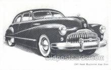 tra007015 - 1948 Buick Road master Four Door Automotive, Autos, Cards Old Vintage Antique Postcard Post Card