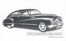 tra007016 - 1947 Buick Super Sedanet Automotive, Autos, Cards Old Vintage Antique Postcard Post Card