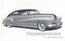 tra007021 - 1946 Buick Road master Sedanet Automotive, Autos, Cards Old Vintage Antique Postcard Post Card
