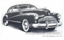 tra007022 - 1947 Buick Road master Four Door Automotive, Autos, Cards Old Vintage Antique Postcard Post Card