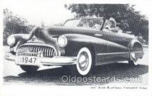 tra007029 - 1947 Buick Road master Convertible Coupe Automotive, Autos, Cards Old Vintage Antique Postcard Post Card