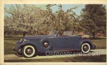 tra007033 - 1933 Packard Sport Phaeton Non Postcard Backing, Automotive, Autos, Cards Old Vintage Antique Postcard Post Card