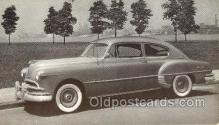 tra007039 - 1949 Pontiac Streamliner 2 Door Sedan Automotive, Autos, Cards Old Vintage Antique Postcard Post Card