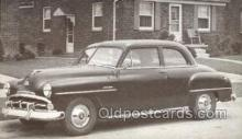 tra007045 - 1951 Plymouth Cambridge Club Coupe Automotive, Autos, Cards Old Vintage Antique Postcard Post Card