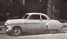 tra007047 - 1949 Chevrolet Style line 6 Passenger Coupe Automotive, Autos, Cards Old Vintage Antique Postcard Post Card