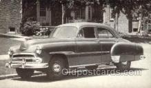 tra007050 - 1951 Chevrolet Style line Deluxe 4 Door Sedan Automotive, Autos, Cards Old Vintage Antique Postcard Post Card