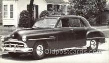 tra007052 - 1951 Plymouth Cambridge 4 Door Sedan Automotive, Autos, Cards Old Vintage Antique Postcard Post Card