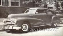 tra007058 - 1947 Pontiac Streamliner 2 Door Sedan Automotive, Autos, Cards Old Vintage Antique Postcard Post Card