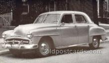 tra007068 - 1951 Plymouth Cranbrook 4 Door Sedan Automotive, Autos, Cards Old Vintage Antique Postcard Post Card