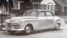 tra007070 - 1950 Chrysler Windsor 4 Door Sedan Automotive, Autos, Cards Old Vintage Antique Postcard Post Card