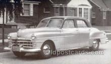 tra007076 - 1950 Chrysler Windsor Automotive, Autos, Cards Old Vintage Antique Postcard Post Card