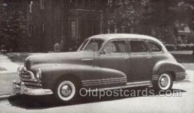 tra007080 - 1947 Pontiac Torpedo 4 Door Sedan Automotive, Autos, Cards Old Vintage Antique Postcard Post Card