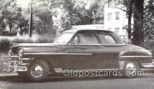 tra007081 - 1949 Chrysler Windsor Club Coupe Automotive, Autos, Cards Old Vintage Antique Postcard Post Card