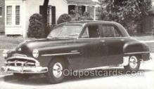 tra007082 - 1951 Plymouth Cambridge 4 Door Sedan Automotive, Autos, Cards Old Vintage Antique Postcard Post Card