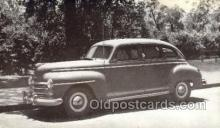 tra007083 - 1947 Plymouth 4 Door Sedan Automotive, Autos, Cards Old Vintage Antique Postcard Post Card