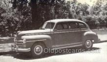 tra007087 - 1947 Plymouth 4 Door Sedan Automotive, Autos, Cards Old Vintage Antique Postcard Post Card