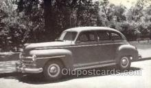 tra007090 - 1947 Plymouth 4 Door Sedan Automotive, Autos, Cards Old Vintage Antique Postcard Post Card