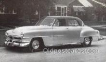 tra007095 - 1951 Chrysler Windsor 4 Door Sedan Automotive, Autos, Cards Old Vintage Antique Postcard Post Card