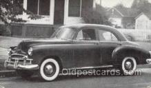 tra007101 - 1950 Chevrolet Style line Special 4 Door Sedan Automotive, Autos, Cards Old Vintage Antique Postcard Post Card