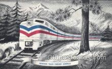 trn001042 - Freedom Train Crosses America Train Trains, Postcard Postcards