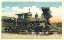 trn001044 - The General, Union Depot, Chattanooga, Tennessee, TN USA Trains, Railroads Postcard Post Card Old Vintage Antique