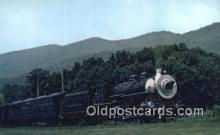 trn001054 - Southwest Virginia Scenic Railroad, Mendota, Virginia, VA USA Trains, Railroads Postcard Post Card Old Vintage Antique