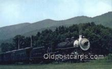trn001055 - Southwest Virginia Scenic Railroad, Mendota, Virginia, VA USA Trains, Railroads Postcard Post Card Old Vintage Antique