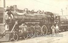 trn001073 - Reproduction - Engine 1037, Springfield, Missouri, MO USA Trains, Railroads Postcard Post Card Old Vintage Antique