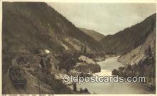 trn001075 - The Fraser Canton And Hells Gate  Trains, Railroads Postcard Post Card Old Vintage Antique