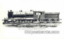 trn001076 - Heavy Goods Engine For The Bengal Nagpur Railway  Trains, Railroads Postcard Post Card Old Vintage Antique