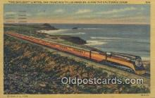 trn001081 - The Daylight Limited, San Francisco, California, CA USA Trains, Railroads Postcard Post Card Old Vintage Antique