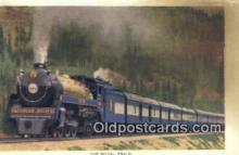 trn001096 - The Royal Train, Vancouver, British Columbia, BC  Trains, Railroads Postcard Post Card Old Vintage Antique