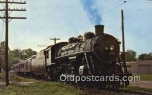 trn001122 - Ohio Railway Museum, Worthington, Ohio, OH USA Trains, Railroads Postcard Post Card Old Vintage Antique