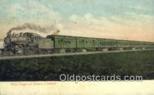trn001132 - New England States, Limited Trains, Railroads Postcard Post Card Old Vintage Antique