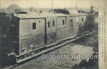 trn001154 - La Grande Guerre France Trains, Railroads Postcard Post Card Old Vintage Antique