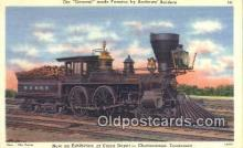 trn001157 - The General, Union Depot, Chattanooga, Tennessee, TN USA Trains, Railroads Postcard Post Card Old Vintage Antique