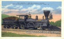 trn001162 - The General, Union Depot, Chattanooga, Tennessee, TN USA Trains, Railroads Postcard Post Card Old Vintage Antique