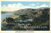trn001169 - Crown Point Columbia River Highway, Union Pacific System, USA Trains, Railroads Postcard Post Card Old Vintage Antique