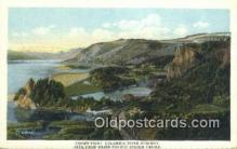 trn001177 - Crown Point Columbia River Highway, Union Pacific System, USA Trains, Railroads Postcard Post Card Old Vintage Antique