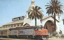 trn001201 - Amtrak 509, San Diego, California, CA USA Trains, Railroads Postcard Post Card Old Vintage Antique