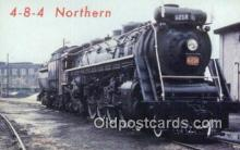 trn001231 - 4-8-4 Northern, Canada Trains, Railroads Postcard Post Card Old Vintage Antique