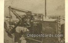 trn001238 - Repro Image Early Model Steam Shovel, Echo Canon, Utah, UT USA Trains, Railroads Postcard Post Card Old Vintage Antique