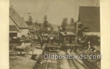 trn001250 - Repro Image Trains, Railroads Postcard Post Card Old Vintage Antique
