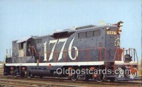 trn001276 - Central Vermont Railways, Vermont, VT USA Trains, Railroads Postcard Post Card Old Vintage Antique