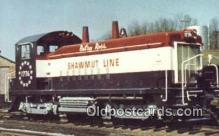trn001285 - Pittsburg And Shawmut Railroads Betsy Ross Trains, Railroads Postcard Post Card Old Vintage Antique