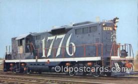 trn001286 - Central Vermont Railways 1776, Vermont, VT USA Trains, Railroads Postcard Post Card Old Vintage Antique