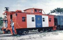 trn001287 - Gold Coast Railroad Bicentennial Caboose Trains, Railroads Postcard Post Card Old Vintage Antique