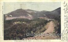 trn001290 - Colorado Springs And Cripple Creek, Short Line, Colorado, CO USA Trains, Railroads Postcard Post Card Old Vintage Antique